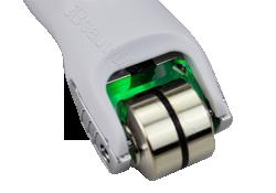 Galvanic Microcurrent meso roller-green light