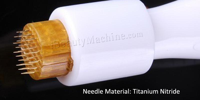 DRS Derma stamp Titanium Needle roller