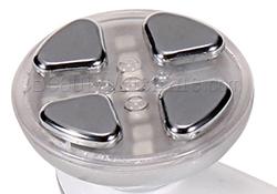 Stainless steel conductive metal head